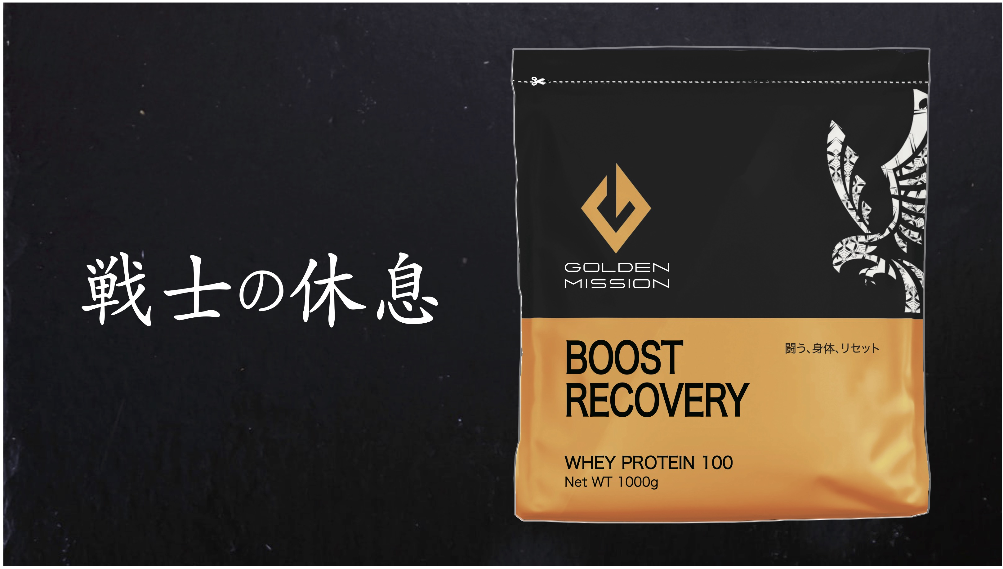 GOLDEN MISSION - BOOST RECOVERY